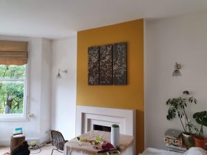 feature wall painting
