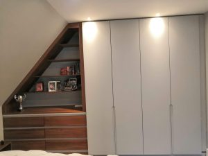 fitted closet